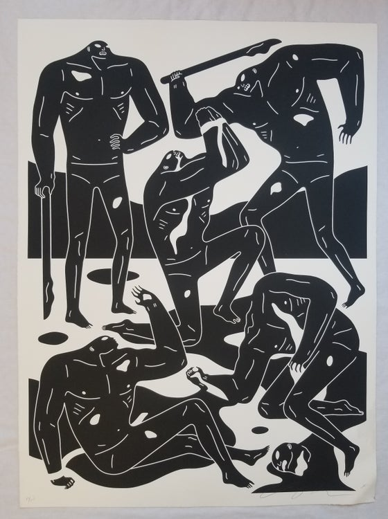 Image of CLEON PETERSON MERCENARIES BLACK