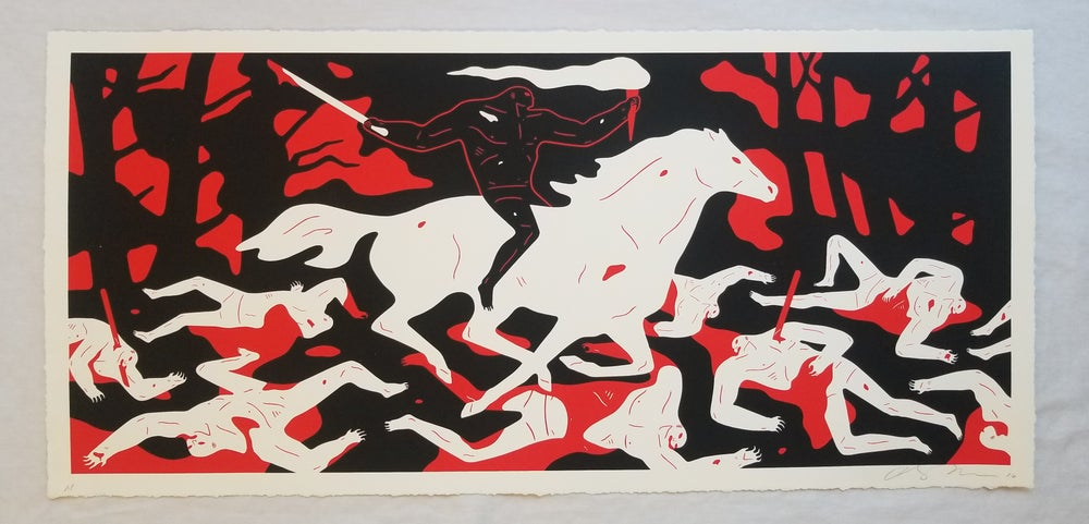 "Image of CLEON PETERSON ""VICTOR""(RED) ARTIST PROOF"