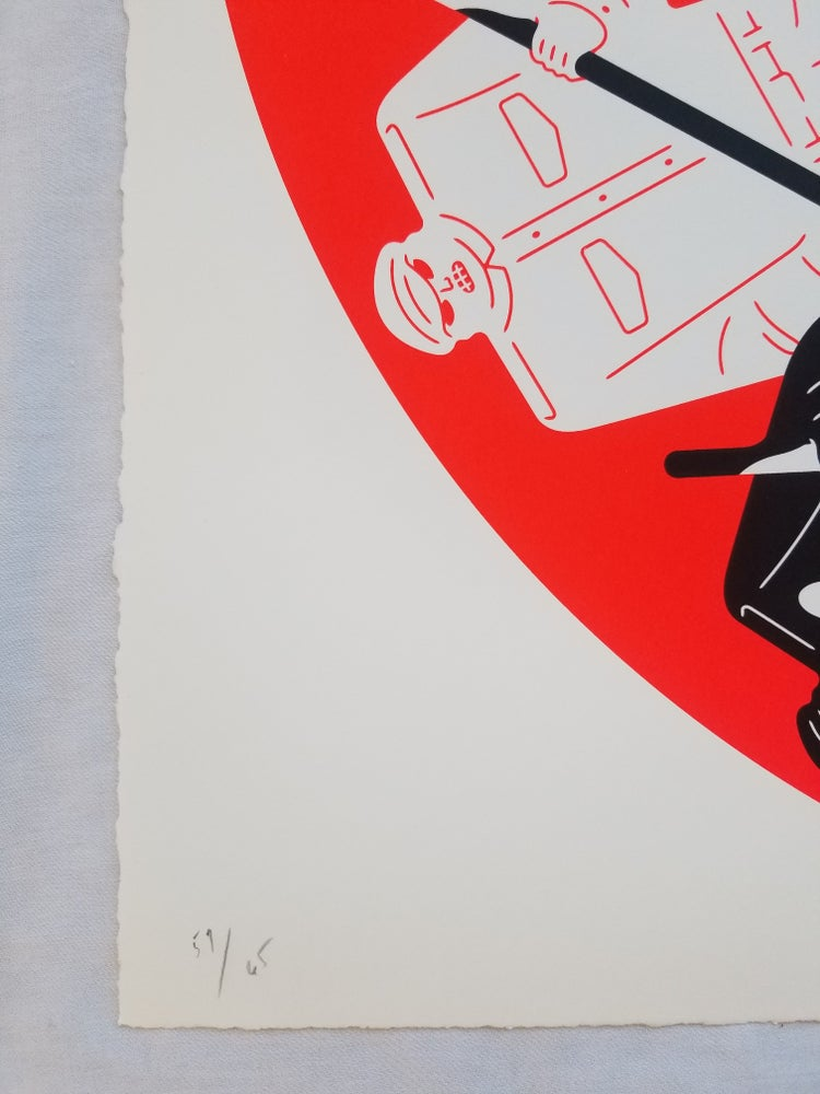 Image of Cleon Peterson Rule of Law (red)