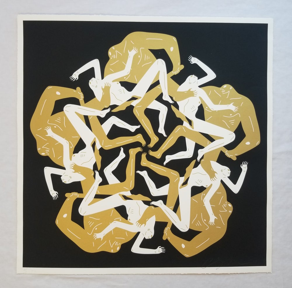 Image of Cleon Peterson Eclipse Black ARTIST PROOF