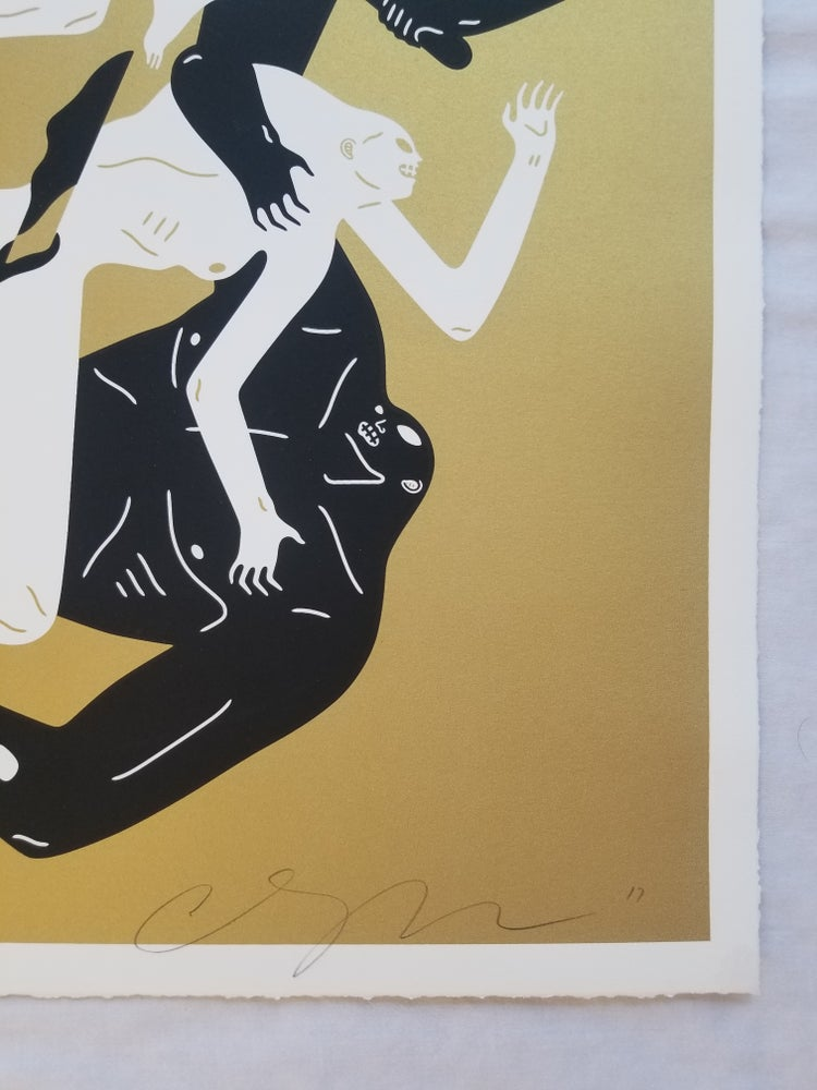 Image of Cleon Peterson ECLIPSE 2 (GOLD) Artist Proof AP