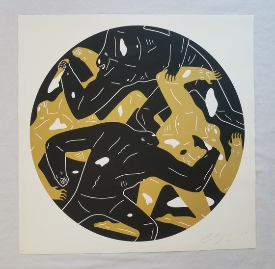 "Image of CLEON PETERSON ""OUT OF DARKNESS"" BLACK ARTIST PROOF"