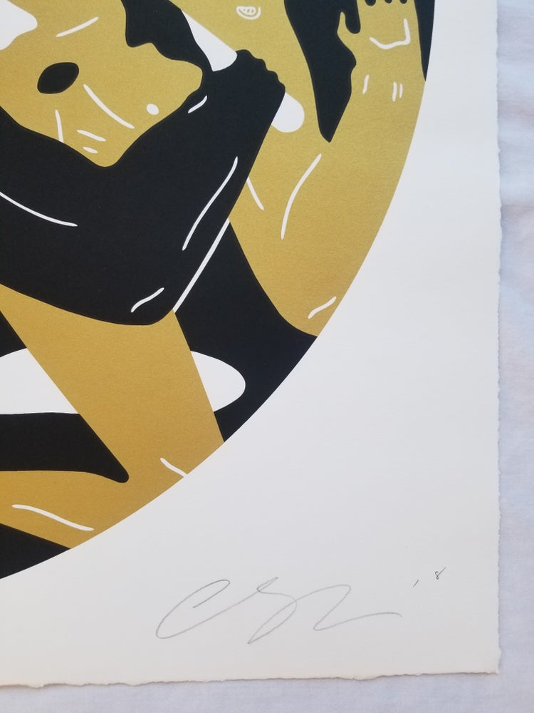 """Image of CLEON PETERSON """"OUT OF DARKNESS"""" BLACK ARTIST PROOF"""