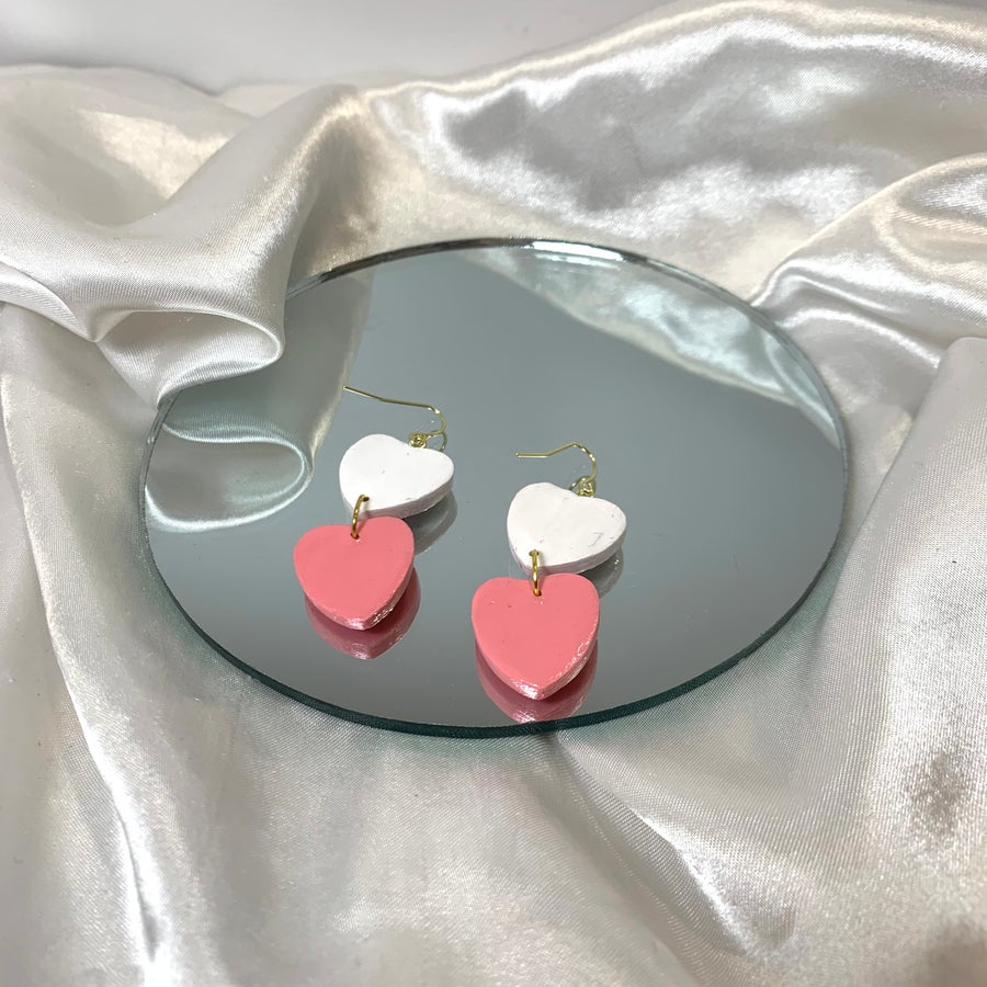 Image of candy hearts dangles