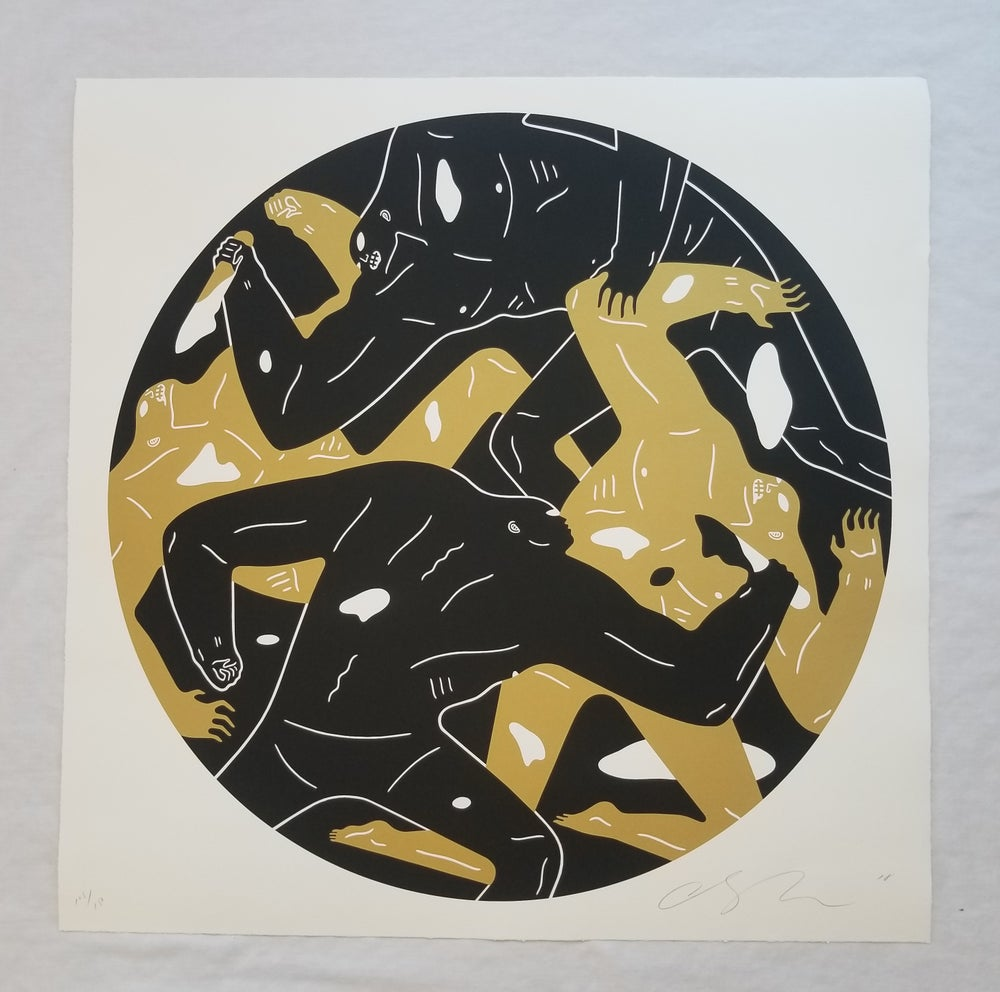 Image of Cleon Peterson OUT OF DARKNESS black