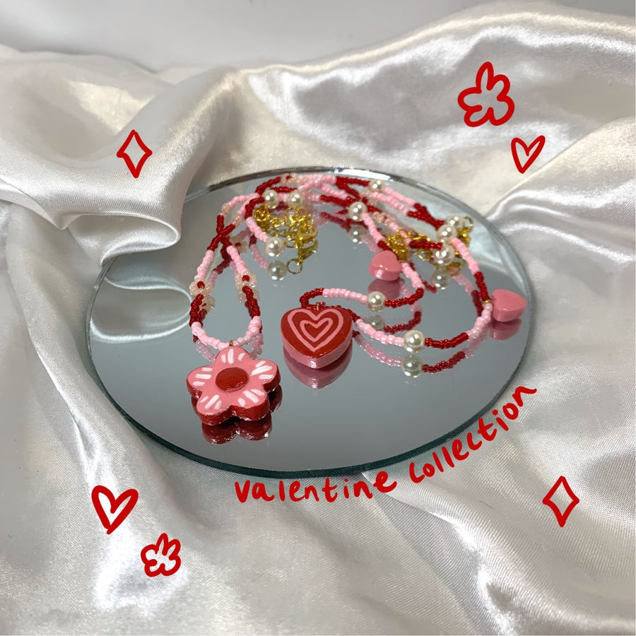 Image of valentine necklaces