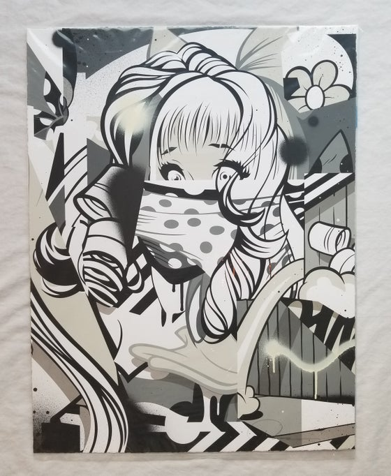 "Image of POSE ""DOLL"" - MONOCHROME ARTIST PROOF"