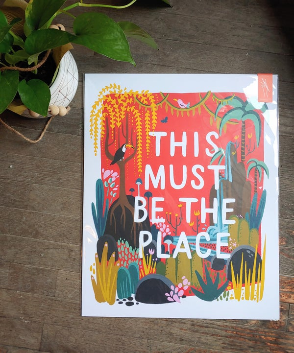 Image of This Must Be The Place Art Print