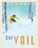 Custom Ski Print Print No. [087]