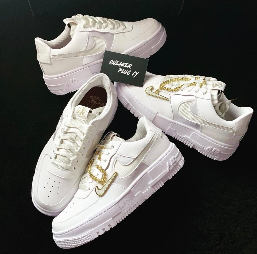 "Nike Air Force 1 ""Pixel / Summit White"""