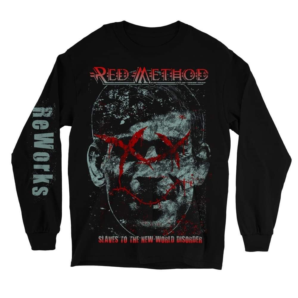 Image of Slaves To The New World Disorder Long Sleeve Tshirt