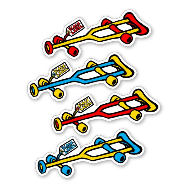 "Image of ""Crutch"" Sticker"