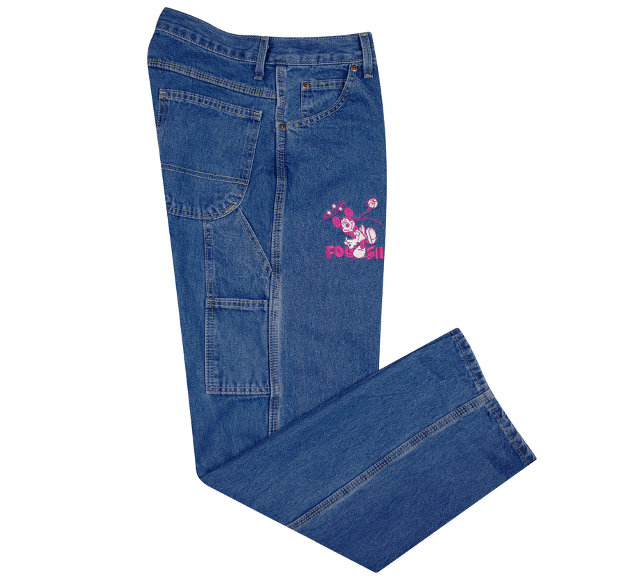 Image of Dazed Carpenter Denim (Magenta)