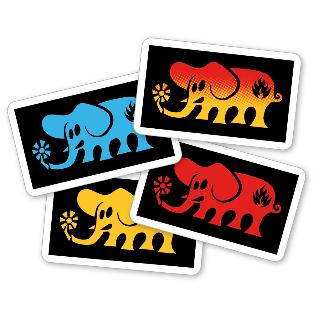 """Image of """"Elephant"""" Sticker"""