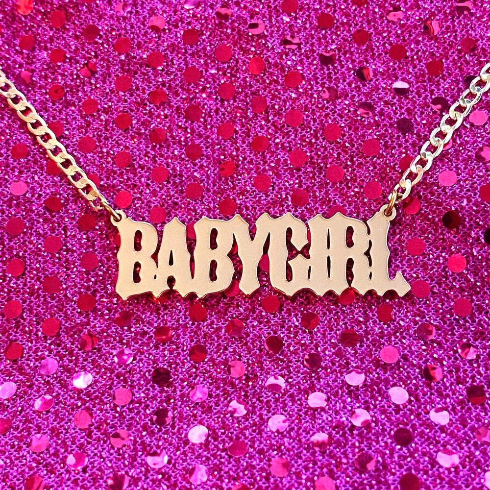 "Image of ""Not Your Babygirl"" Necklace"