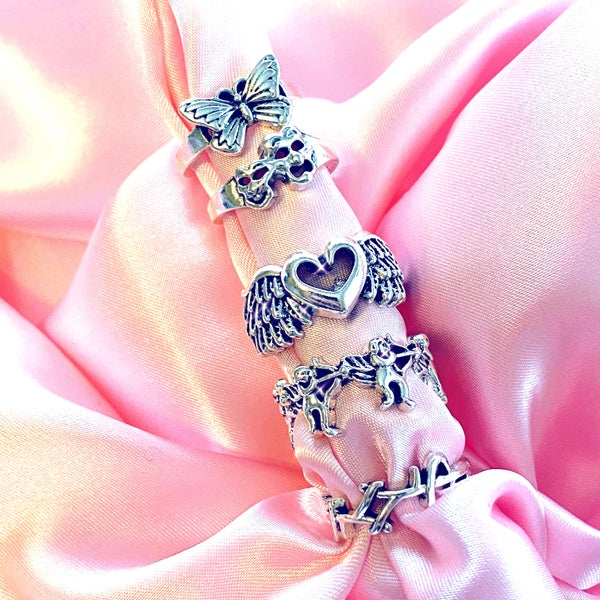 """Image of """"Protect Your Energy"""" Mix Rings SET OF 5"""