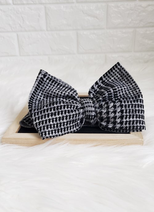 Image of Houndstooth headwrap