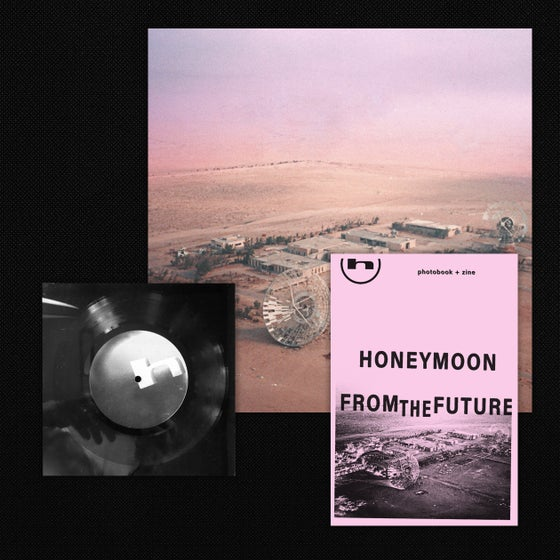 "Image of Honeymoon - 6"" Lathe + LP + Zine Bundle"