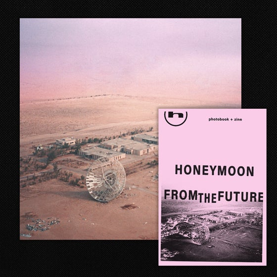 Image of Honeymoon - From The Future LP + Zine Bundle