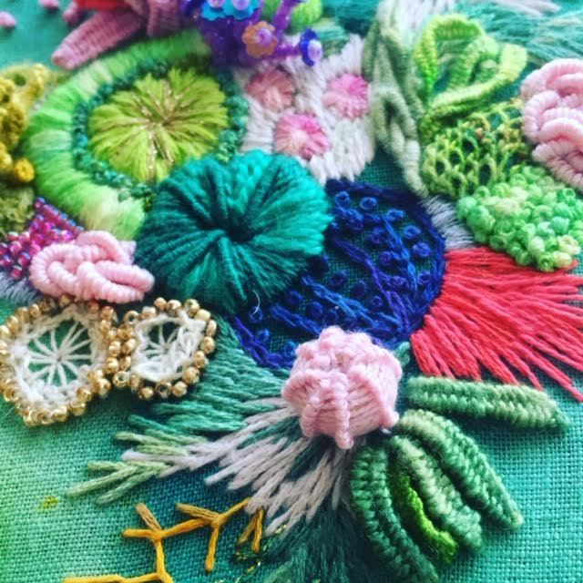 Image of 3D stitching workshop with Amy Jones Saturday February 6th 12noon - 5pm