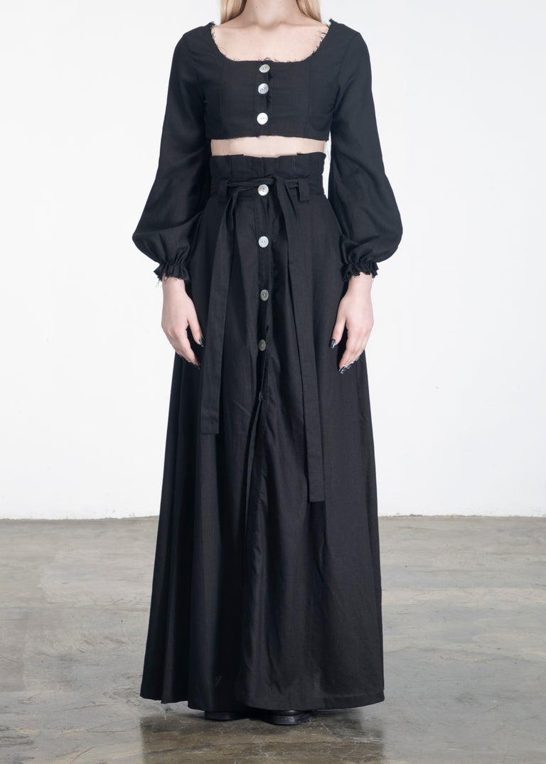 Image of SAMPLE SALE - Long Infinity Top & Skirt Set