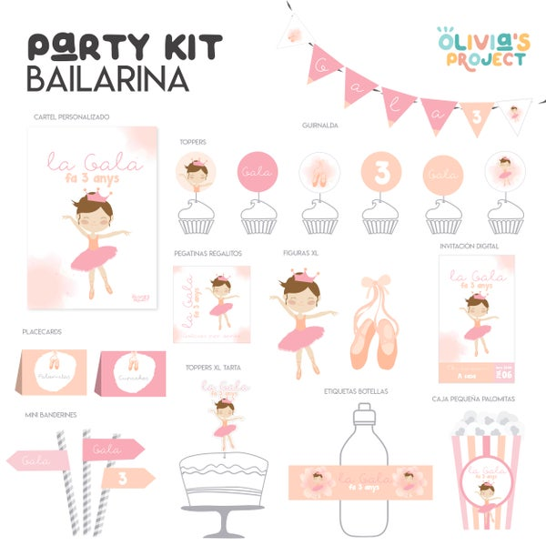 Image of Party Kit Bailarina