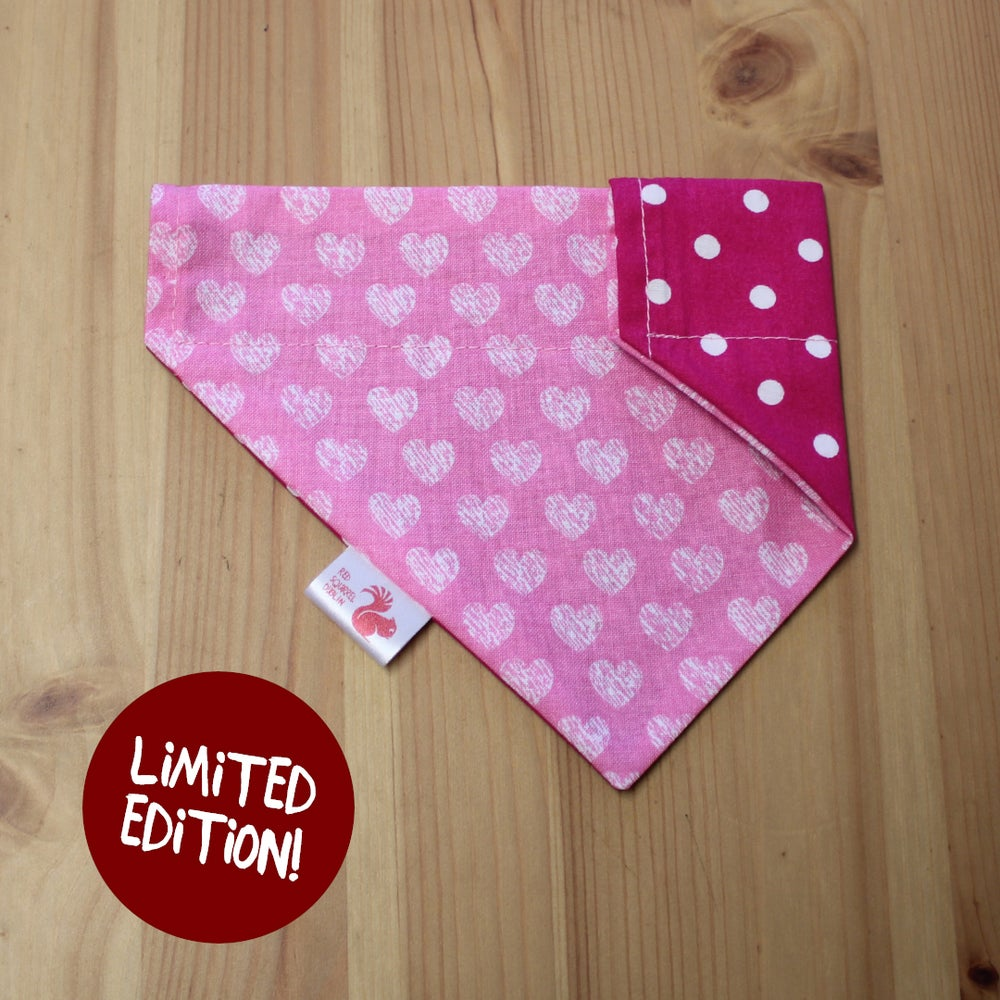 Image of Cute hearts bandana