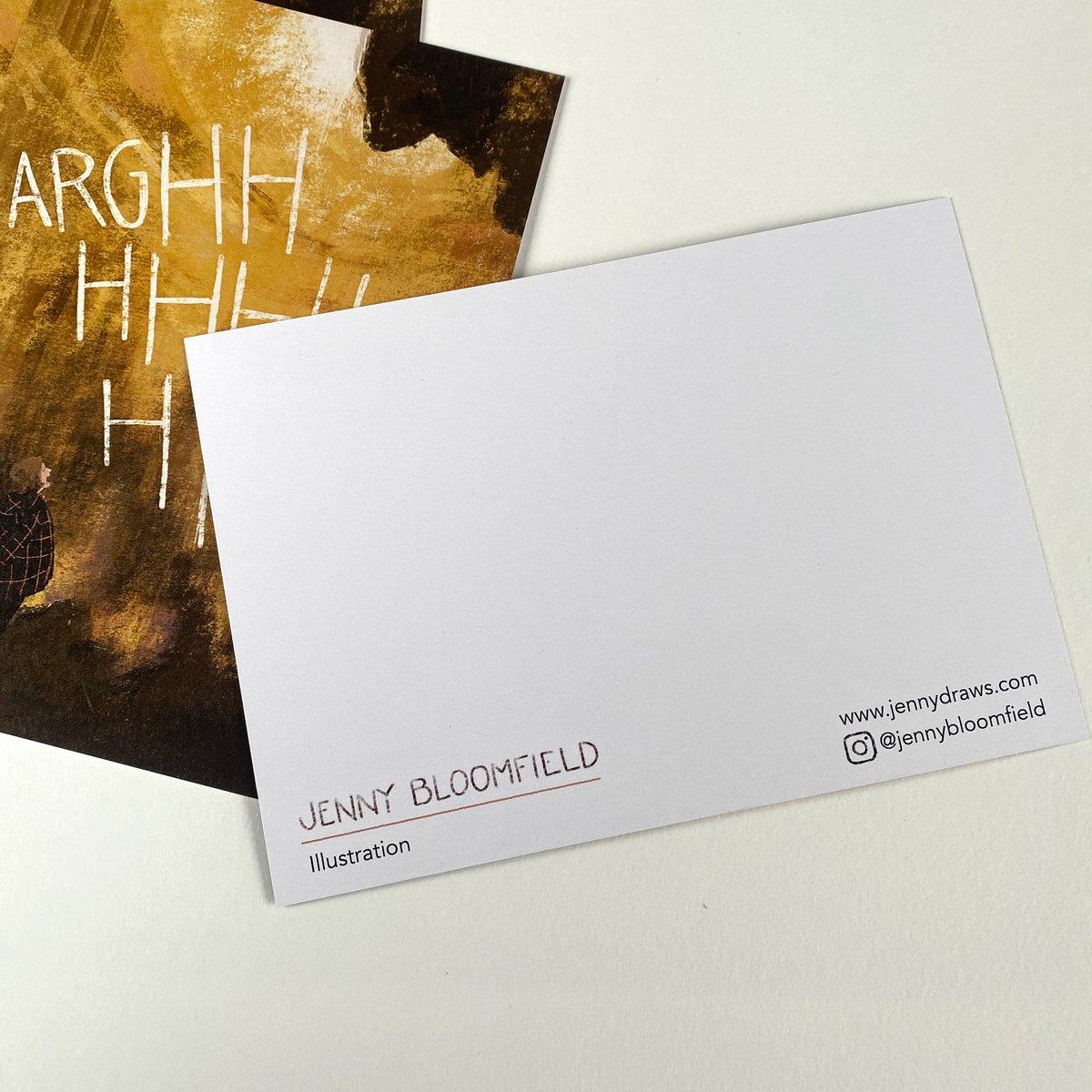 Image of 'ARGHHHHHHHHH!' Postcard - single or multipack