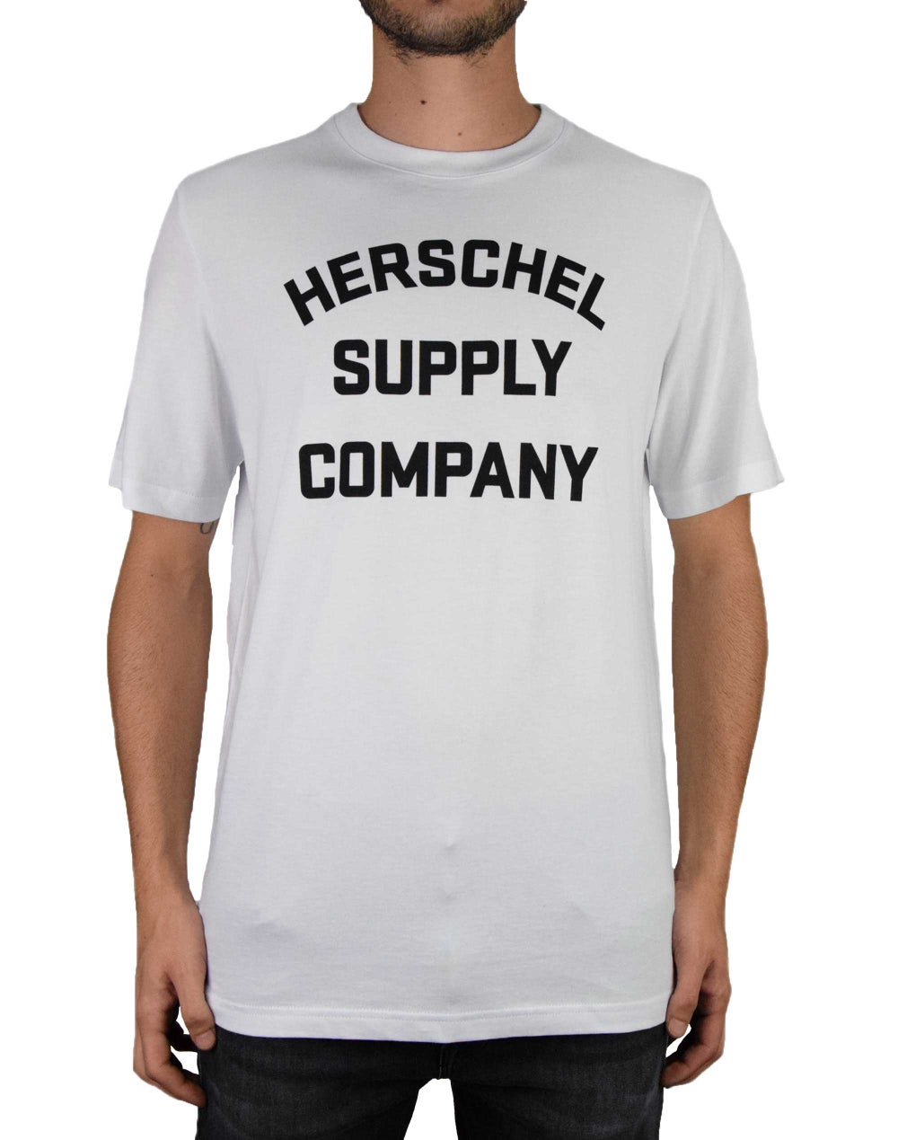CAMISETA HERSCHEL SUPPLY STACKED LOGO EN LIQUIDACION