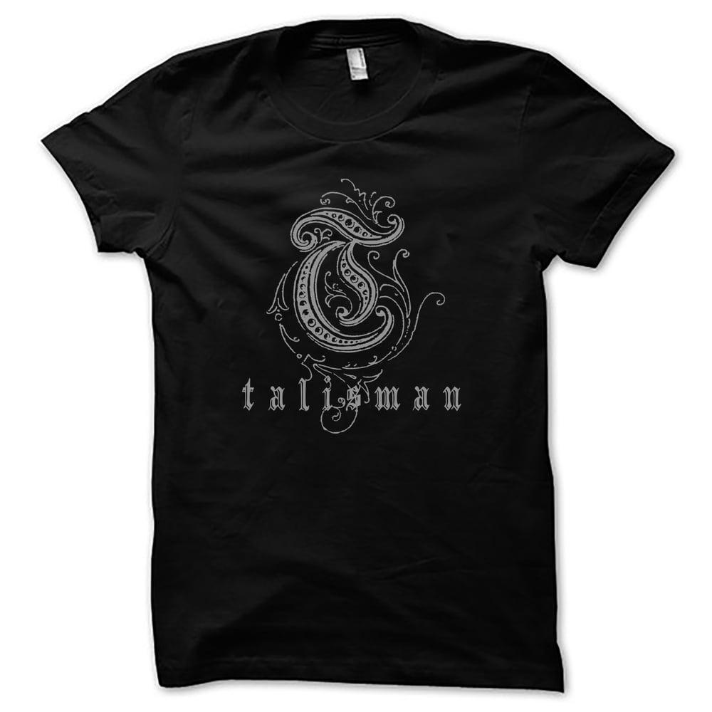 Image of Talisman - Silver Logo (T-shirt)