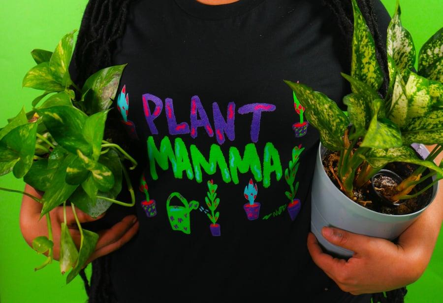 Image of Black Plant Mama  Unisex T-Shirt