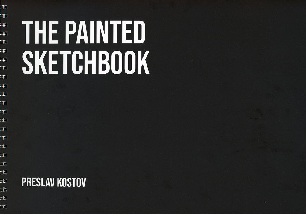Image of The Painted Sketchbook - Signed First Edition