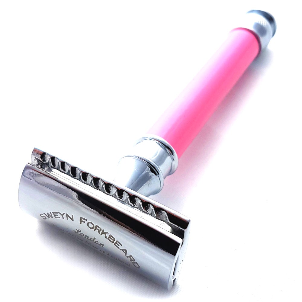 Image of Safety Razor Astrid´s Sword in Pink Color