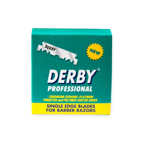 Image of Single Edge Blades Derby Professional Box of 100