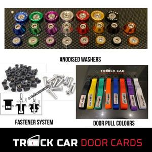 Image of Nissan S13 Drift Car Door Cards - using original handle