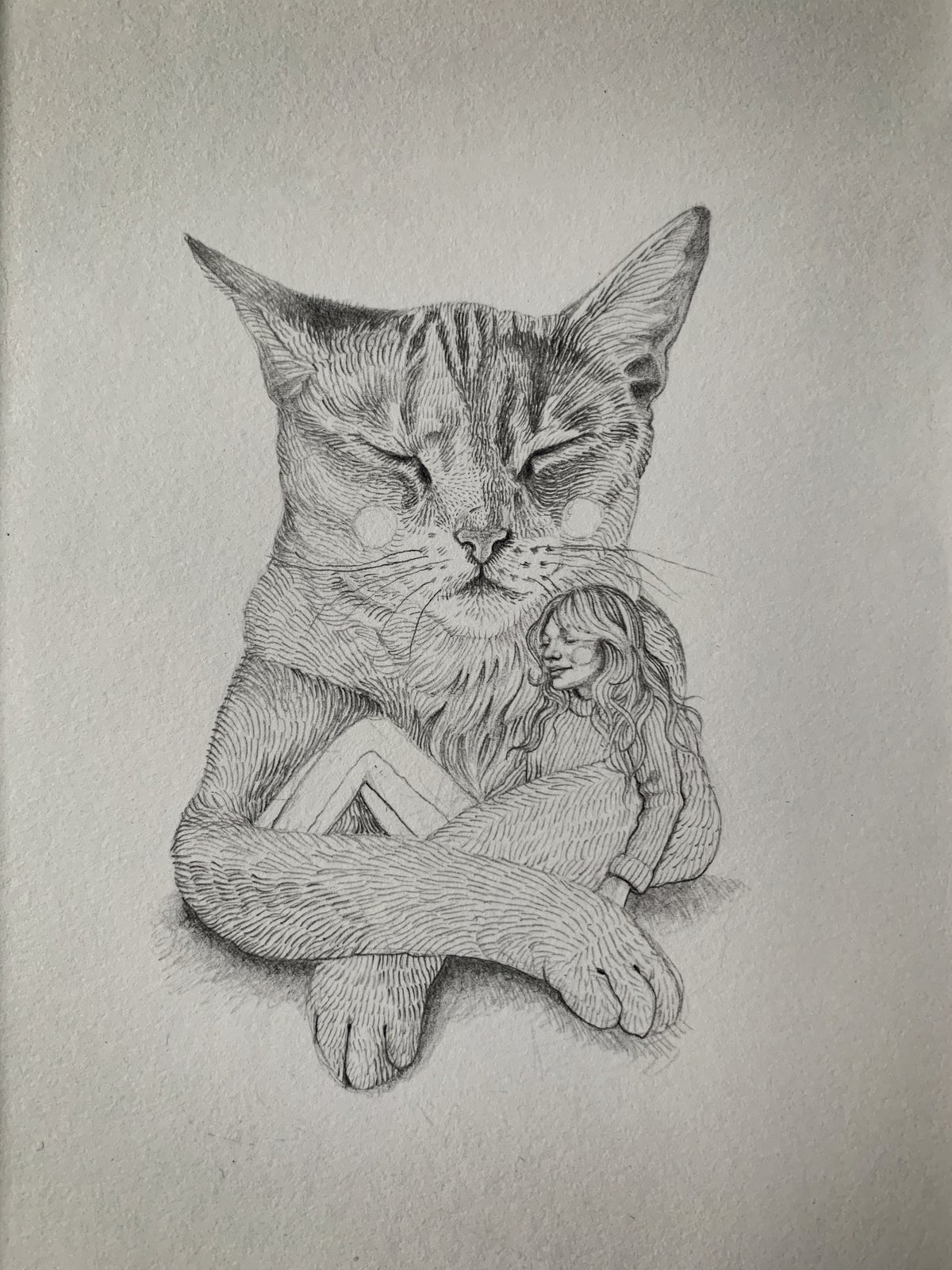 Image of Pet and Owner Art Commissions