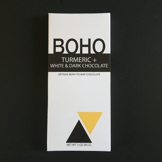 Image of Boho Chocolate Turmeric Swirl