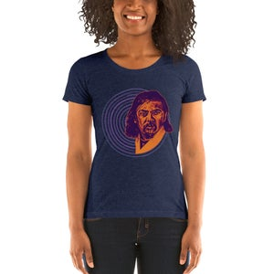 Uncle Jess Women's Form-fitting Navy T-Shirt