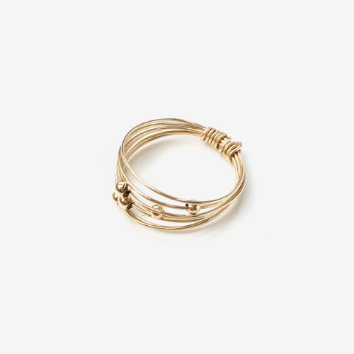 Image of Bague Wire // Gold