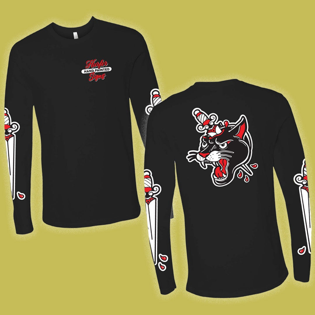 Image of Panther & Dagger Long sleeve shirt