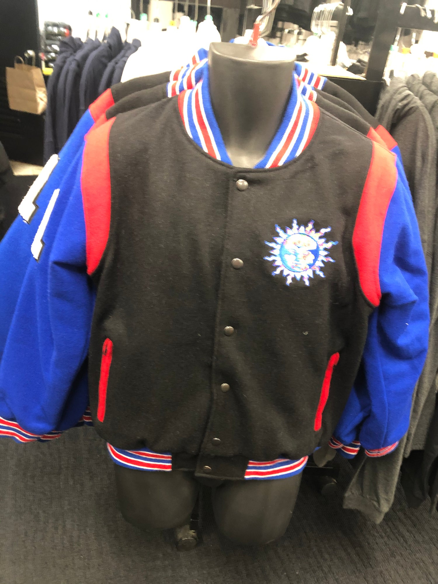 Image of THE ONE WOOL VARSITY JACKET