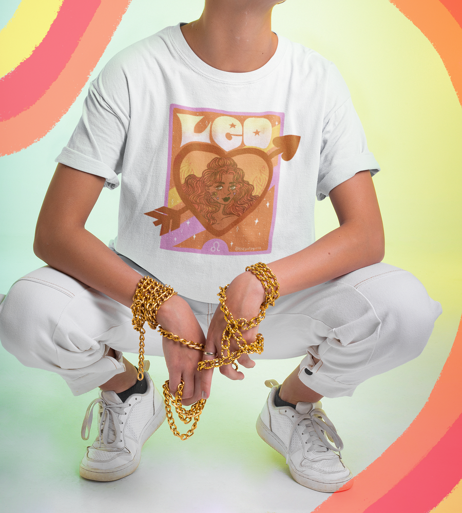 Image of LEO ASTROLOGY TEE
