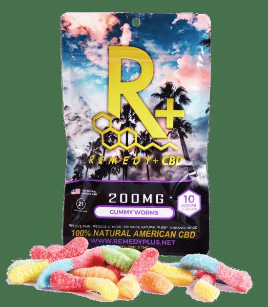 Image of Remedy+ 100mg CBD Gummies