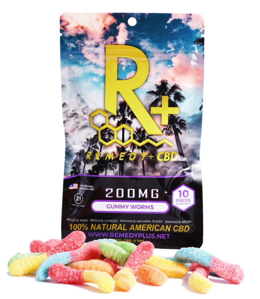 Remedy+ 100mg CBD Gummies
