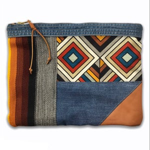 Image of COLLAGE POUCH 2 - LARGE