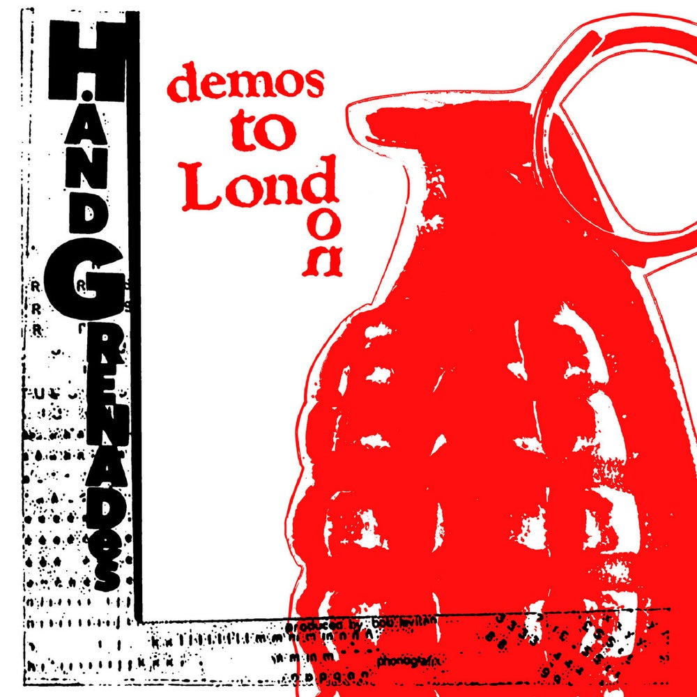 Image of HAND GRENADES - Demos To London LP