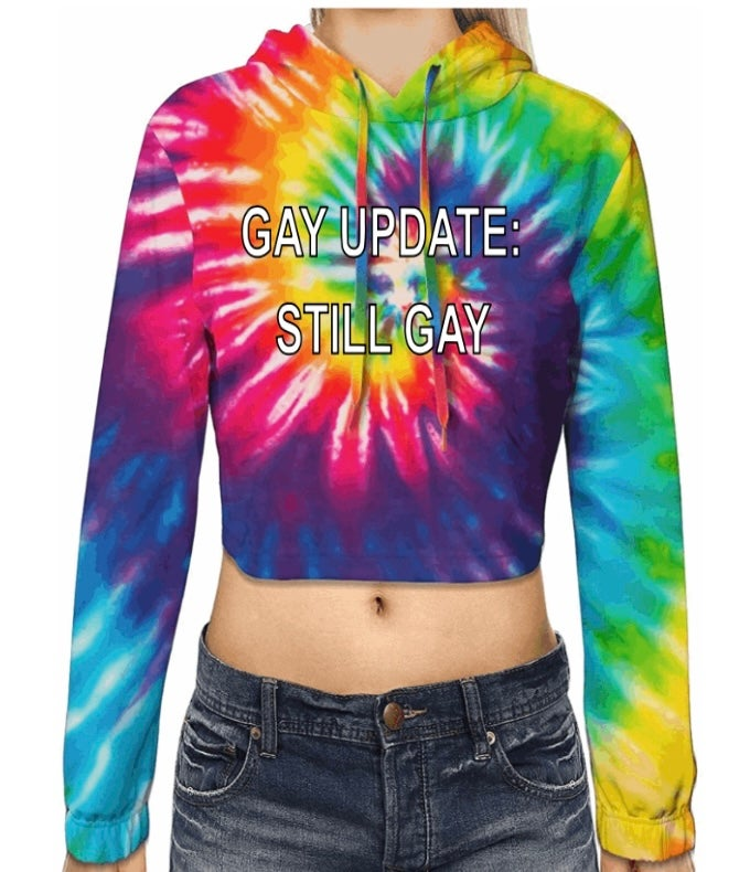Image of The Still Gay *Tie Dye* Tee - LIMITED EDITION