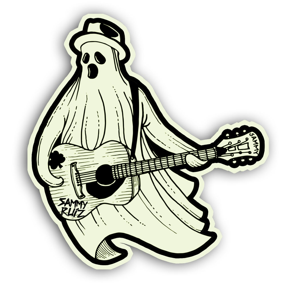Ghost of LA (Glow in the Dark) Sticker