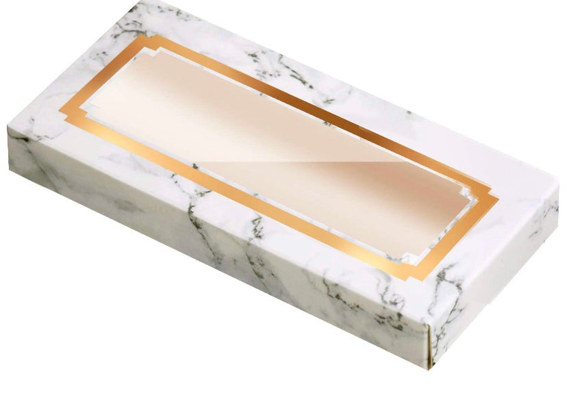 Image of Empty Eyelashes Packaging Paper Eyelash Box
