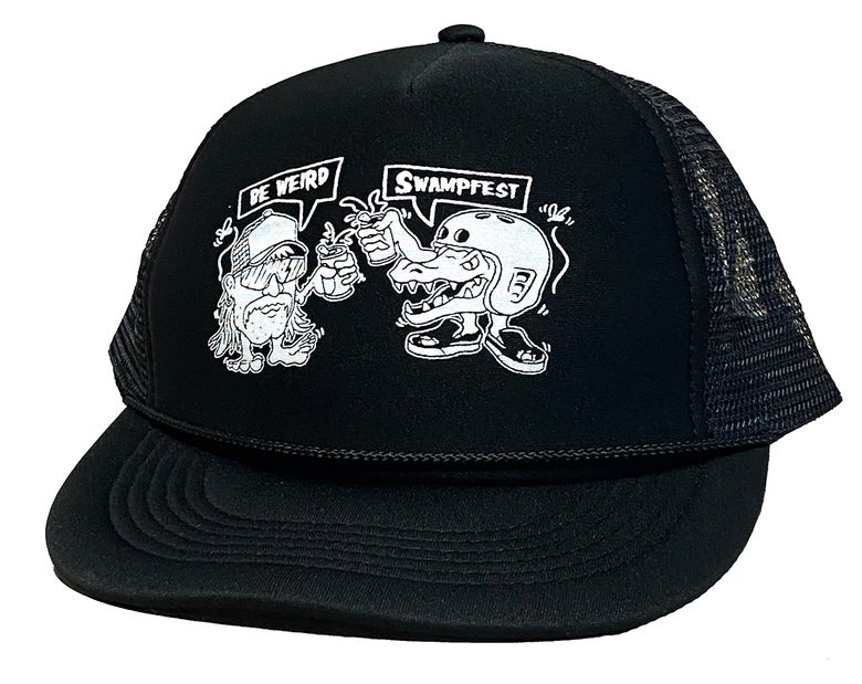 Image of SWAMPFEST X BE WEIRD HAT